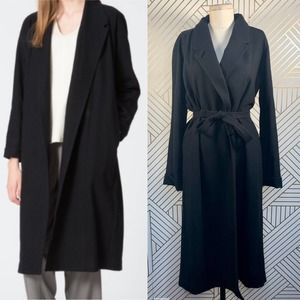 Uniqlo and Lemaire Cashmere Blended Robe Coat